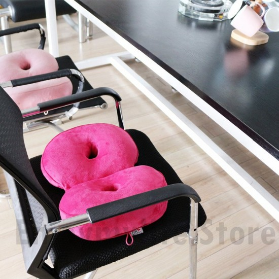 Multi-functional Memory Foam Dual Comfort Seat Cushion