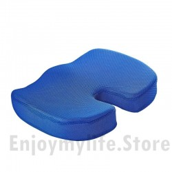 Non-Slip U Shape Memory Foam Breathable Cover Seat Cushion