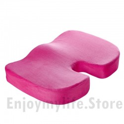 Non-Slip U Shape Memory Foam Plush Cover Seat Cushion