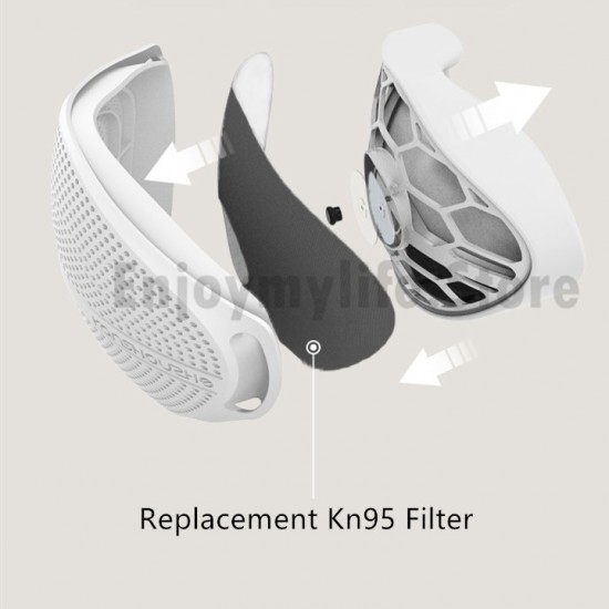 Particulate Respiratory Protection Face Mask with 10 Replacement Kn95 Filter