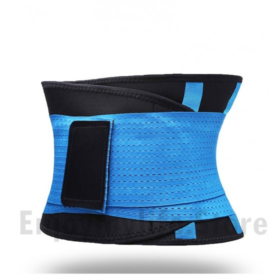 Women And Men Adjustable Neoprene Elastic Sport Waist Support Belt
