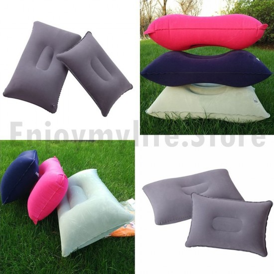 Multifunction Inflatable PVC Nylon Travel Pillow