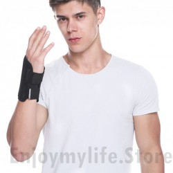 1PCS Carpal Tunnel Wrist Brace with Two Removable Splint and Adjustable Support Wrap