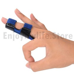 1 pcs Trigger Finger Splints Finger Knuckle Immobilization plus 1pcs Elastic Self Adhesive Bandage Finger Tape